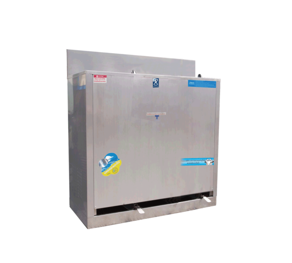 ตู้ทำน้ำเย็น 2 ก๊อก เท้าเหยียบ ระบบปิด MC-R2
