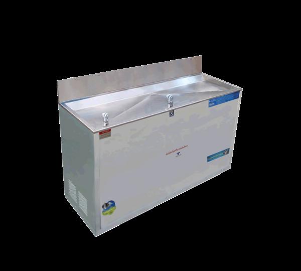 ตู้ทำน้ำเย็น 2 ก๊อก ก๊อก้ำพุ่ง ระบบปิด MC-R2
