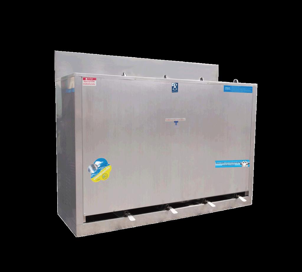 ตู้ทำน้ำเย็น 4 ก๊อก ก๊อกน้ำพุ่ง ระบบเท้าเหยียบ MC-RF4