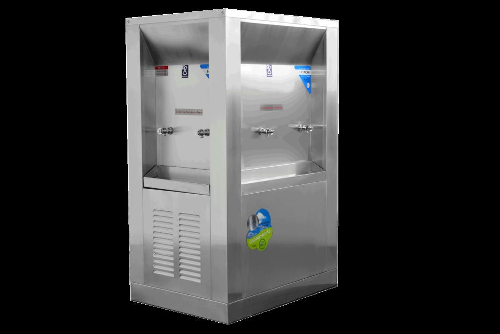 ตู้ทำน้ำเย็น 6 ก๊อก 3 ด้าน