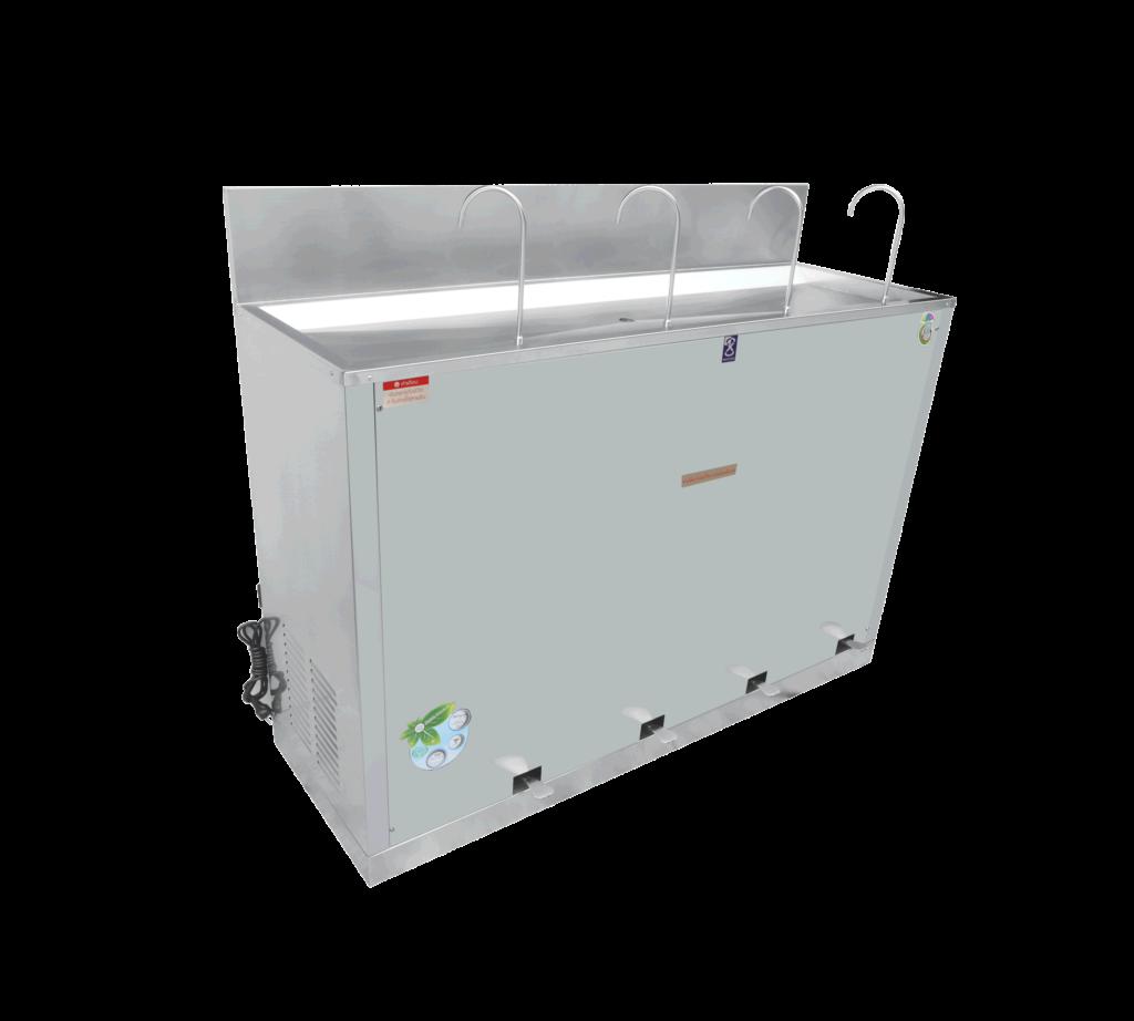 ตู้ทำน้ำเย็น 4 ก๊อก ก๊อกงวงช้าง ระบบเท้าเหยียบ MC-RFE4