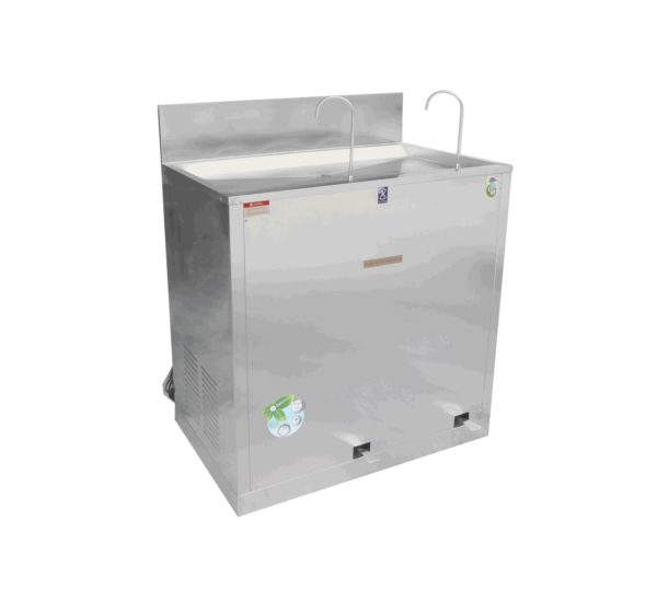 ตู้ทำน้ำเย็น 2 ก๊อก ก๊อกงวงช้าง ระบบเท้าเหยียบ MC-RFE2