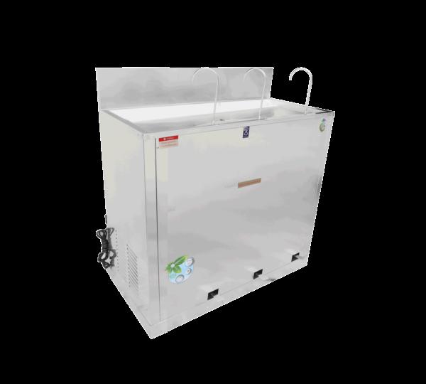 ตู้ทำน้ำเย็น 3 ก๊อก ก๊อกงวงช้าง ระบบเท้าเหยียบ MC-RFE3